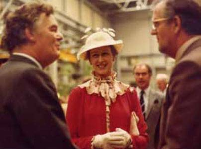 HRH PRINCESS ALEXANDRA OF KENT VISITS - 125 YEARS OF THE COMPANY
