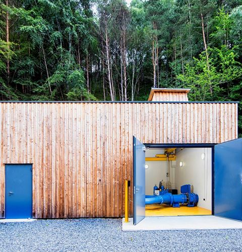 Timber Clad Powerhouse