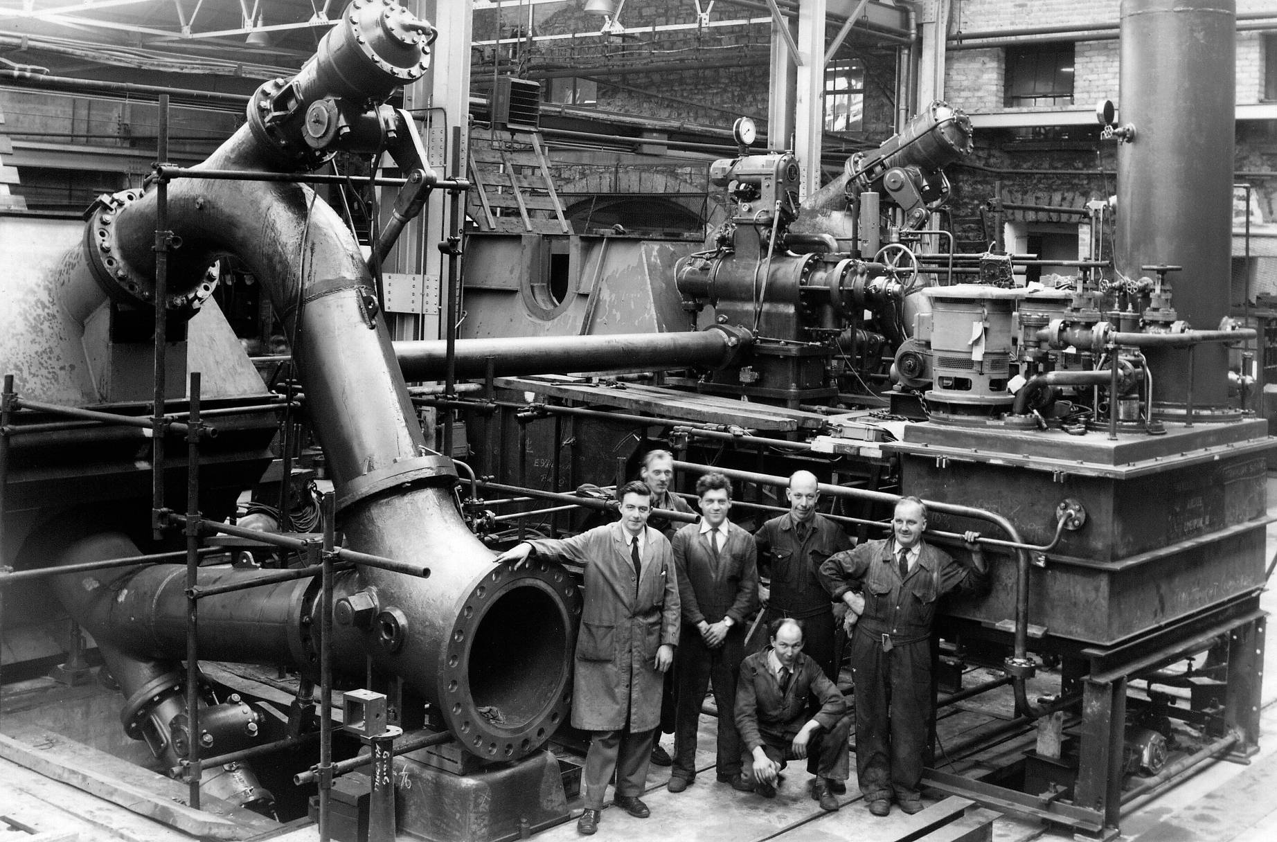 PELTON TURBINES FOR ENGLISH ELECTRIC