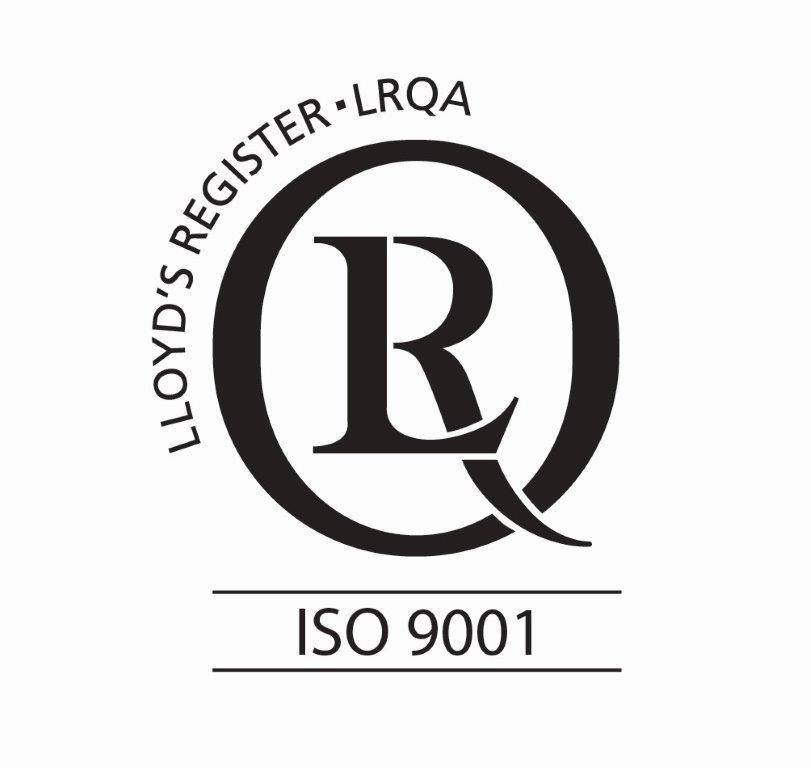 ISO 9001 QUALITY MANAGEMENT STANDARD ACHIEVED